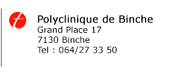 Polyclinique de Binche